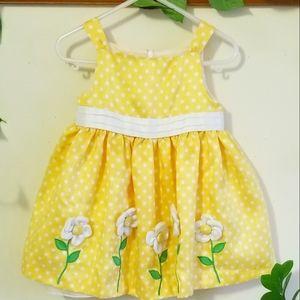 24m Super cute girls polka dot dress NWOT